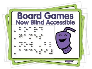 64oz Games Blind Accessible Board Games