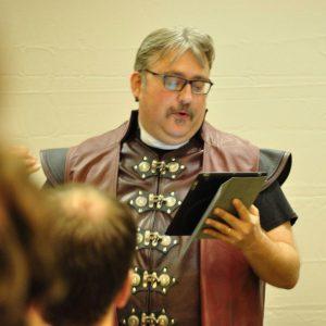 Rev. Derek 'The Geekpreacher' White