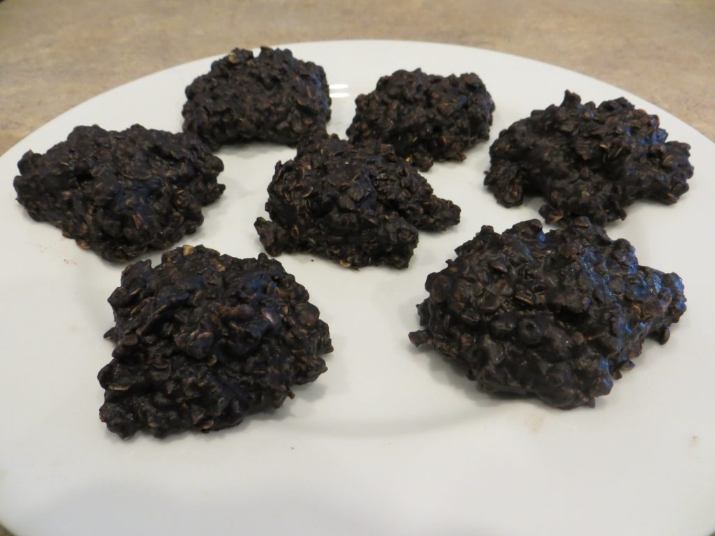 Plate of Unbaked Cookies