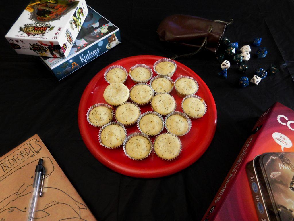 Lemon Poppy Seed Mini-Muffins