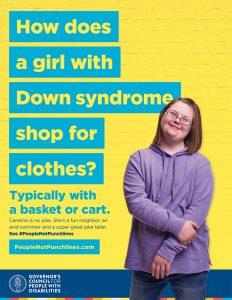 Indiana Disability Awareness Month Theme Poster